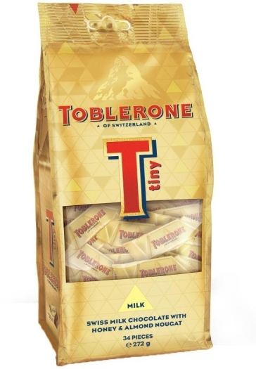 Toblerone Tiny Milk Bag 272g