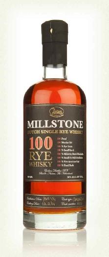 Millstone 100 Rye Whisky 50% 700ml