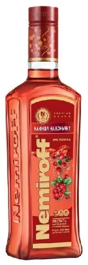 Liqueur Nemiroff Cranberry with Cognac 1L
