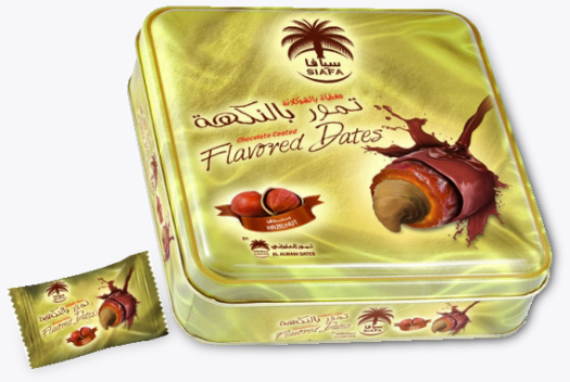 Siafa Flavoured Dates Hazelnut 200g