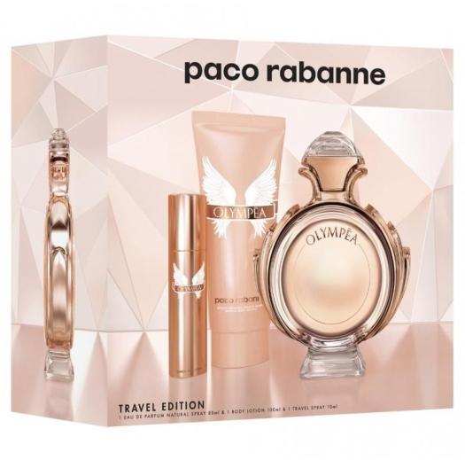 Paco Rabanne Olympea Gift Set 80ml+100ml+10ml