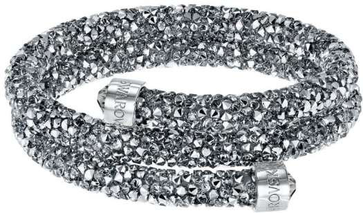 Swarovski Crystaldust Bangle Double 5237762 Bracelet