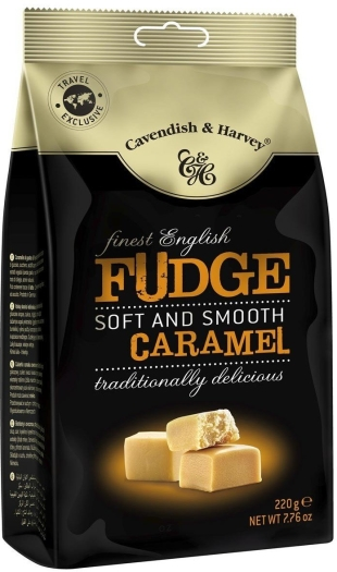 Cavendish&Harvey Finest English Caramel Fudge 220g