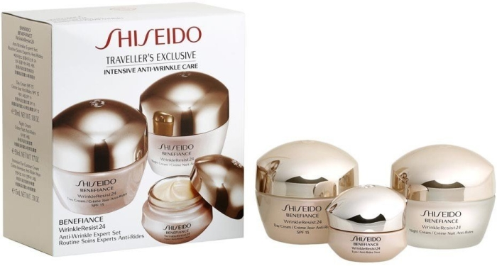 Shiseido Benefiance Anti Wrinkle Expert Set 50ml+50ml+15ml